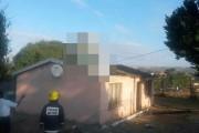 Απίστευτη προσγείωση αυτοκινήτου σε οροφή σπιτιού (4)