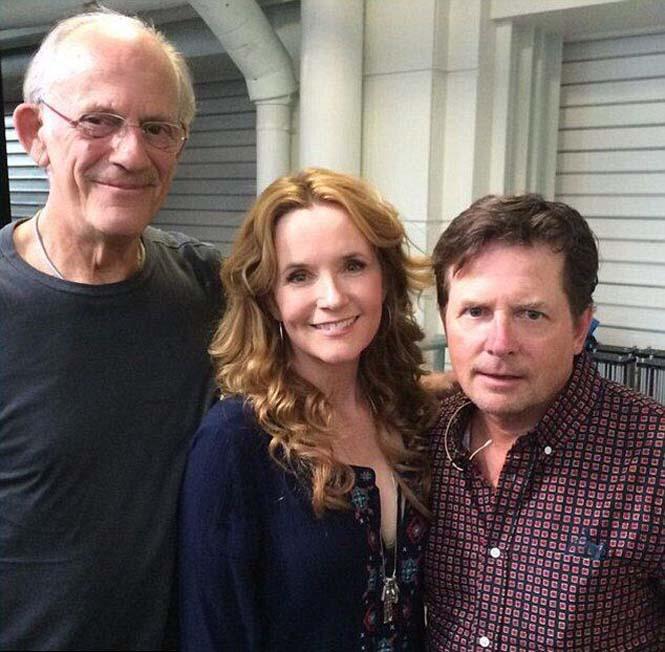 Οι πρωταγωνιστές του «Back to the Future» συναντήθηκαν μετά από 30 χρόνια (5)