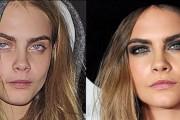 Διάσημες με ή χωρίς μακιγιάζ