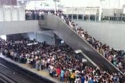 Το εσωτερικό ενός τρένου στην Κίνα σε ώρα αιχμής (1)