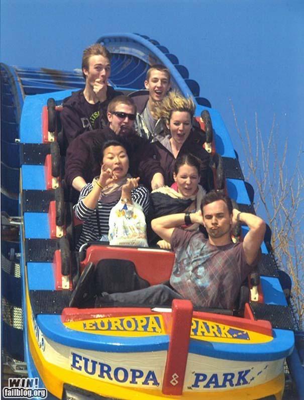 Φωτογραφίες σε Roller Coaster που τραβήχτηκαν την κατάλληλη στιγμή (3)