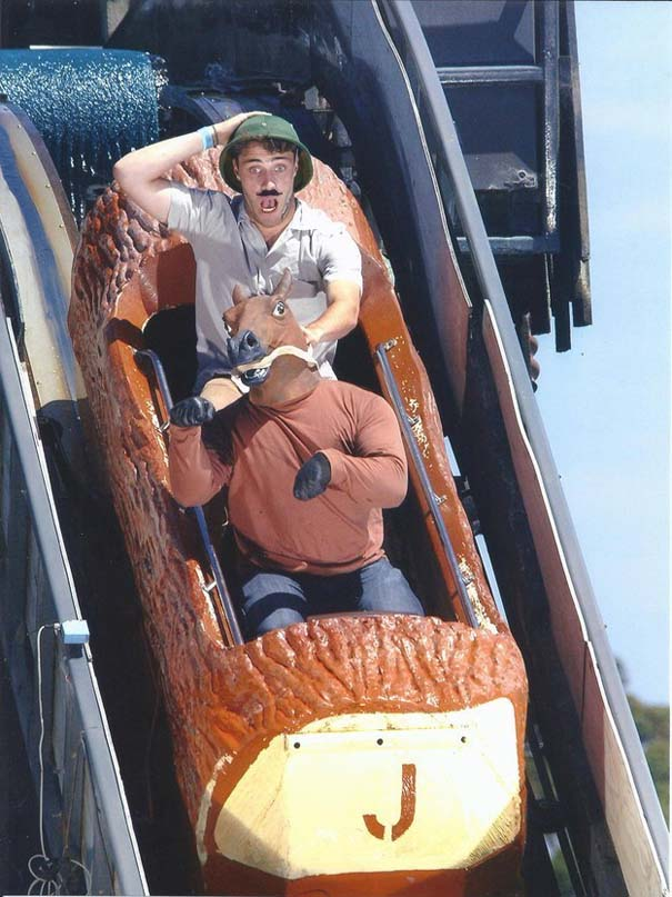 Φωτογραφίες σε Roller Coaster που τραβήχτηκαν την κατάλληλη στιγμή (6)