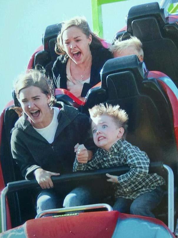 Φωτογραφίες σε Roller Coaster που τραβήχτηκαν την κατάλληλη στιγμή (15)