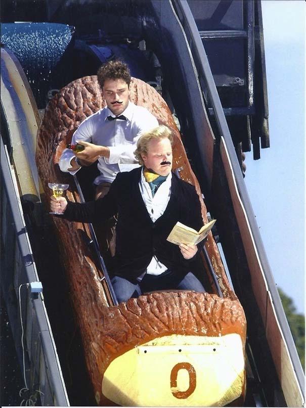 Φωτογραφίες σε Roller Coaster που τραβήχτηκαν την κατάλληλη στιγμή (17)