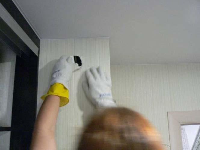 Ιδιοκτήτες σπιτιού ανακάλυψαν κάτι πολύ περίεργο κολλημένο στον τοίχο τους (3)