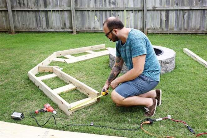 Κατασκευή σετ κήπου που κόστισε ελάχιστα (3)