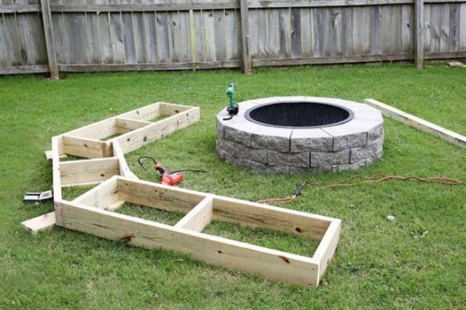Κατασκευή σετ κήπου που κόστισε ελάχιστα (4)