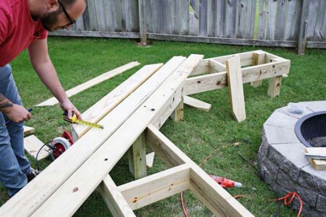 Κατασκευή σετ κήπου που κόστισε ελάχιστα (8)