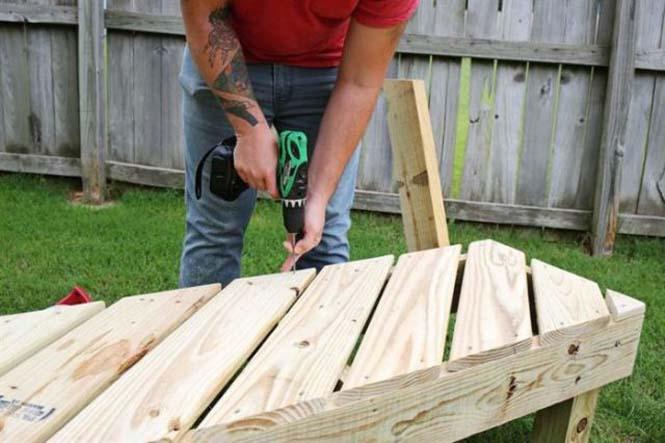Κατασκευή σετ κήπου που κόστισε ελάχιστα (9)