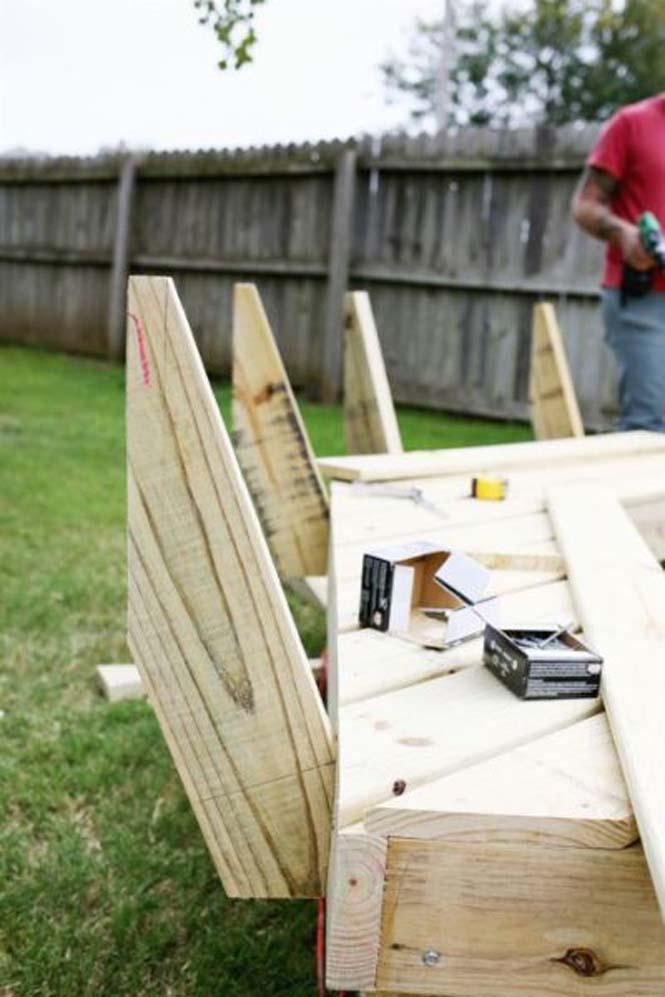 Κατασκευή σετ κήπου που κόστισε ελάχιστα (10)