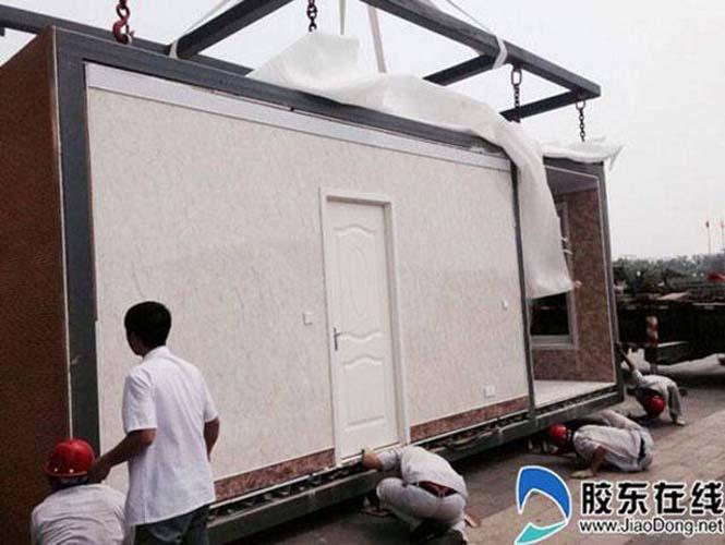 Κινεζική εταιρεία κατασκευάζει σπίτια σε 3 ώρες (1)