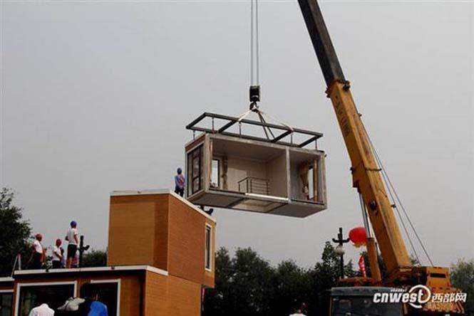 Κινεζική εταιρεία κατασκευάζει σπίτια σε 3 ώρες (3)