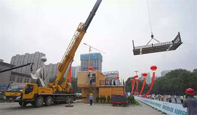 Κινεζική εταιρεία κατασκευάζει σπίτια σε 3 ώρες (5)