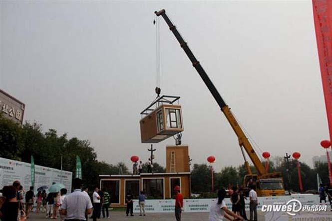 Κινεζική εταιρεία κατασκευάζει σπίτια σε 3 ώρες (6)