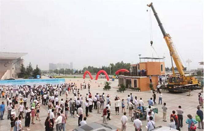 Κινεζική εταιρεία κατασκευάζει σπίτια σε 3 ώρες (9)