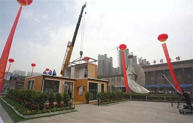 Κινεζική εταιρεία κατασκευάζει σπίτια σε 3 ώρες (11)