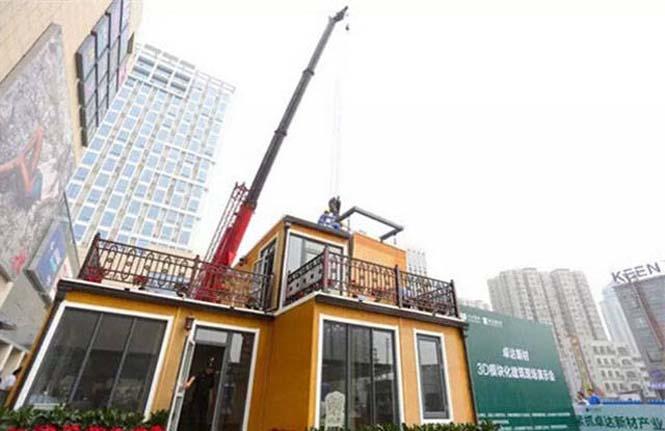 Κινεζική εταιρεία κατασκευάζει σπίτια σε 3 ώρες (15)