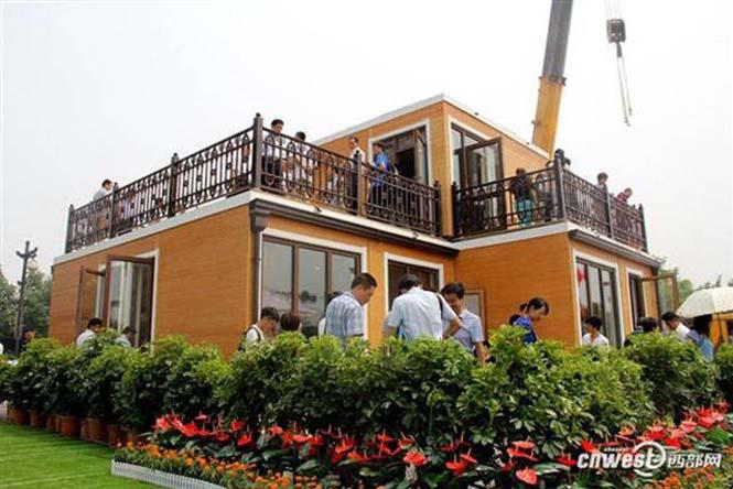 Κινεζική εταιρεία κατασκευάζει σπίτια σε 3 ώρες (18)