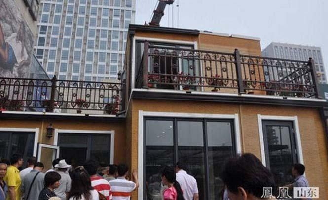 Κινεζική εταιρεία κατασκευάζει σπίτια σε 3 ώρες (20)
