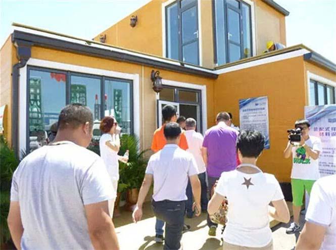 Κινεζική εταιρεία κατασκευάζει σπίτια σε 3 ώρες (21)