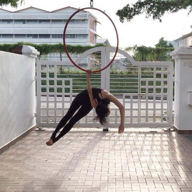Το κορίτσι λάστιχο που μπορεί να κάνει τα πάντα στον αέρα (3)