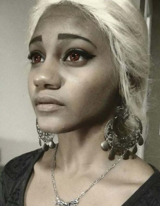 Το κορίτσι που έγινε γνωστό ως σωσίας της Daenerys Targaryen (1)