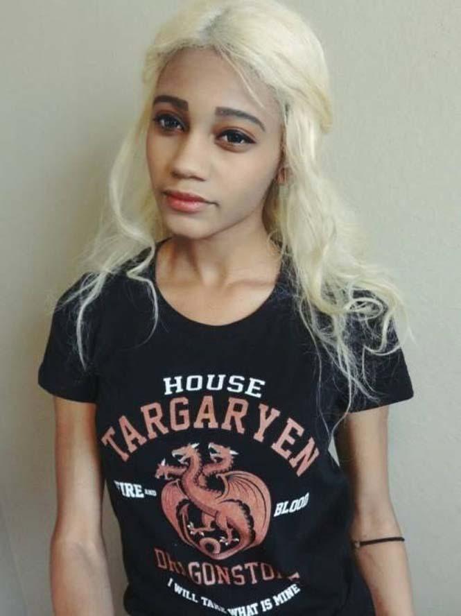 Το κορίτσι που έγινε γνωστό ως σωσίας της Daenerys Targaryen (2)
