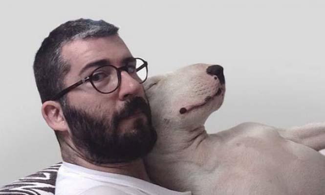 Ξεκαρδιστικά σκιτσοπορτραίτα ενός σκύλου (1)