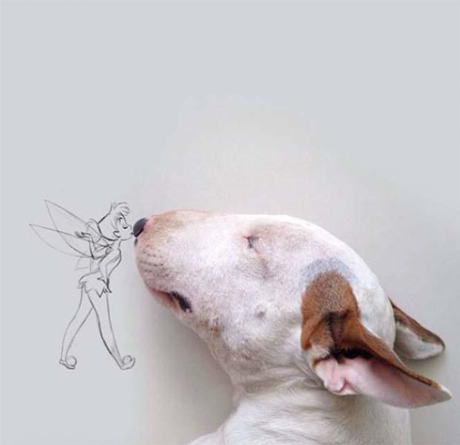 Ξεκαρδιστικά σκιτσοπορτραίτα ενός σκύλου (3)