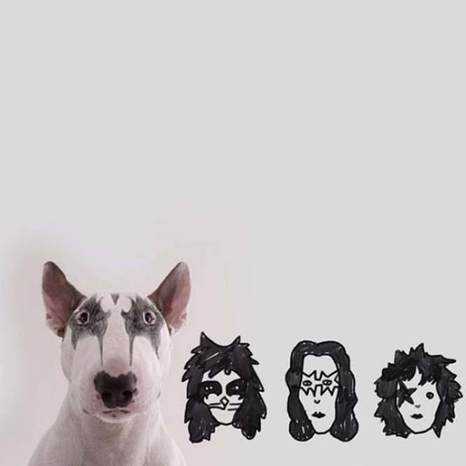 Ξεκαρδιστικά σκιτσοπορτραίτα ενός σκύλου (10)