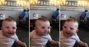 Μωρό με πρόβλημα όρασης αντικρίζει καθαρά για πρώτη φορά τους γονείς του (Video)
