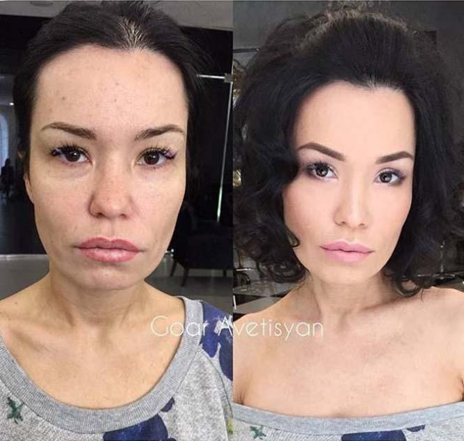 20+1 ολοκληρωτικές μεταμορφώσεις με μακιγιάζ (7)