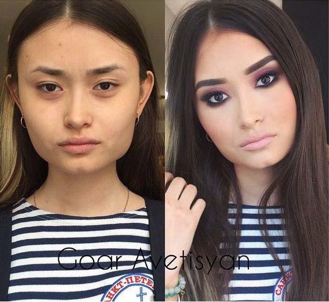 20+1 ολοκληρωτικές μεταμορφώσεις με μακιγιάζ (20)
