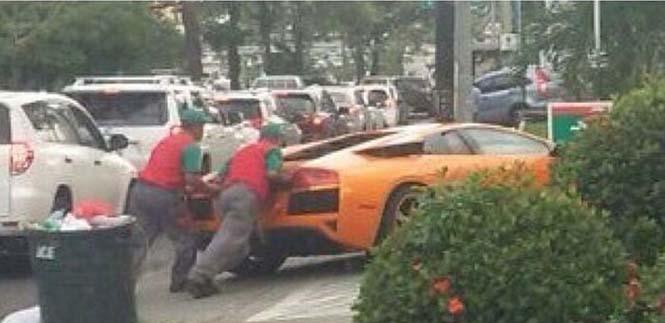 Όταν μια Lamborghini σώθηκε από ένα Toyota Yaris (3)