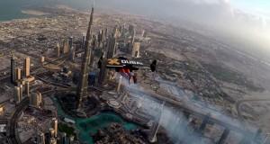 Πετώντας με ένα Jetpack  πάνω από το Dubai (Video)