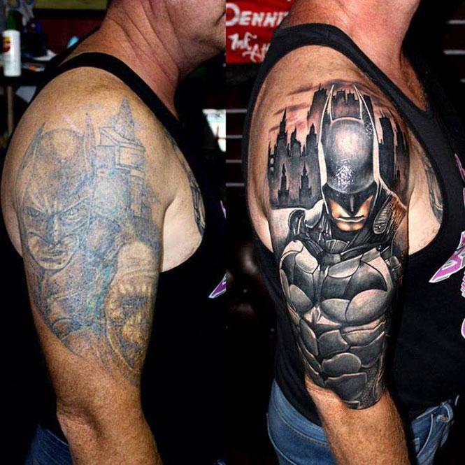 Η ανανέωση ενός τατουάζ | Φωτογραφία της ημέρας