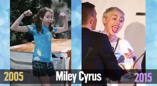 Πόσο άλλαξαν οι διάσημοι με το πέρασμα των χρόνων
