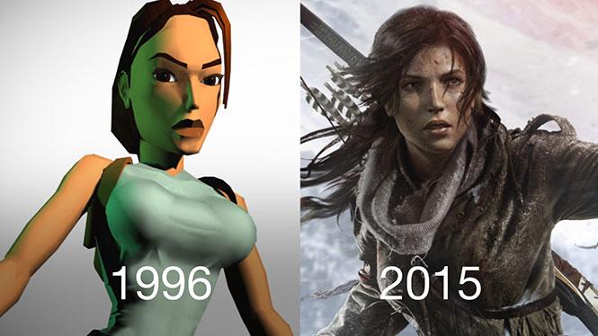 Πόσο άλλαξαν οι χαρακτήρες των video games