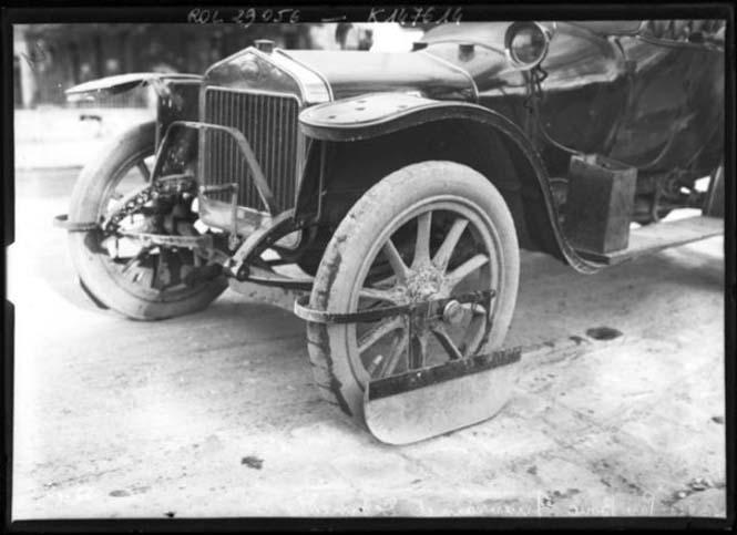 Πως ήταν οι λασπωτήρες αυτοκινήτων το 1912 (5)