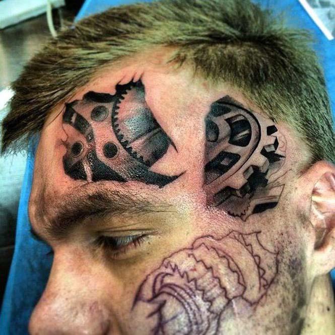 Ένα τατουάζ προσώπου σαν κι αυτό απαιτεί μεγάλη δόση τρέλας (2)