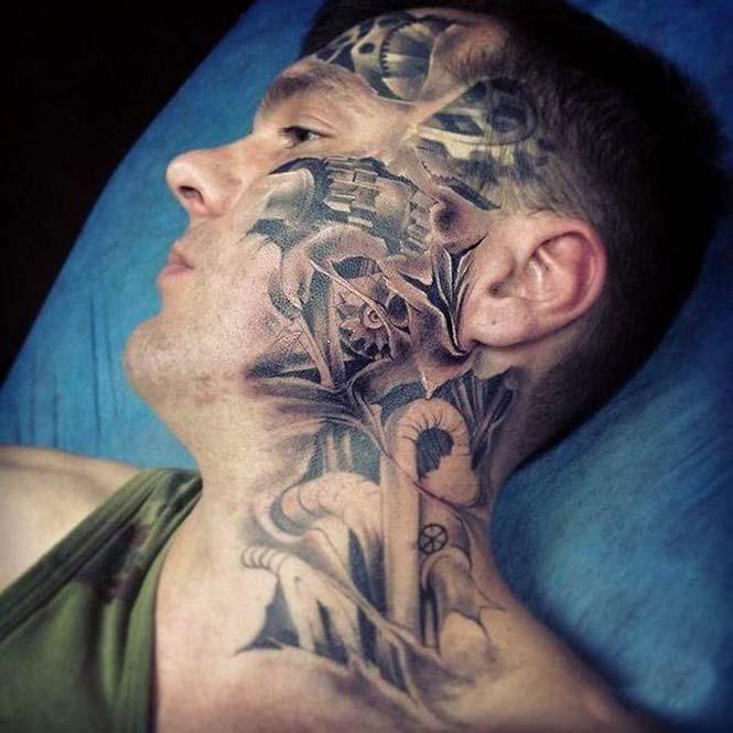 Ένα τατουάζ προσώπου σαν κι αυτό απαιτεί μεγάλη δόση τρέλας (4)