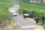 Τρακτέρ σε αγώνα rally
