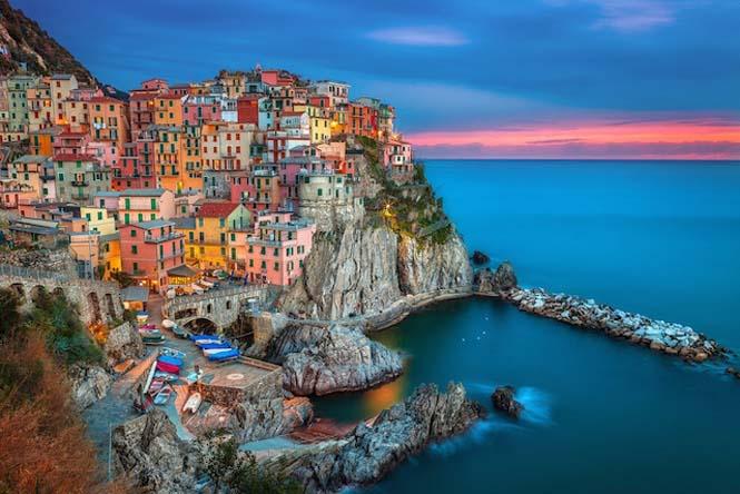 Υπέροχα παραθαλάσσια χωριά στην Ιταλία (2)