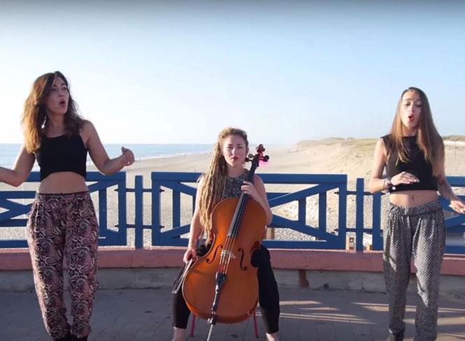 3 Γαλλίδες τραγουδούν τα καλοκαιρινά hits με μοναδικό τρόπο