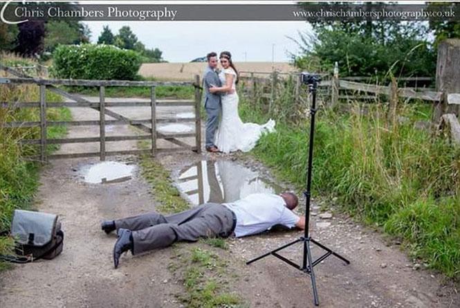 Το backstage μιας γαμήλιας φωτογραφίας (2)