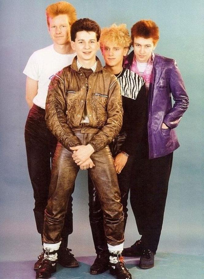 Οι Depeche Mode το 1981 και σήμερα (2)