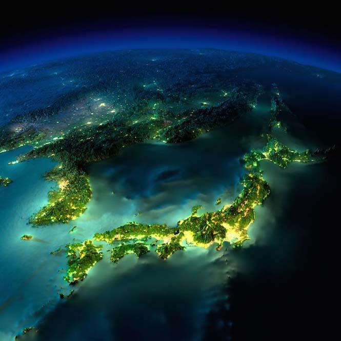 Εκπληκτικές νυχτερινές εικόνες της Γης (3)