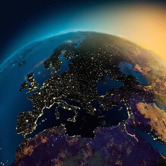 Εκπληκτικές νυχτερινές εικόνες της Γης (4)