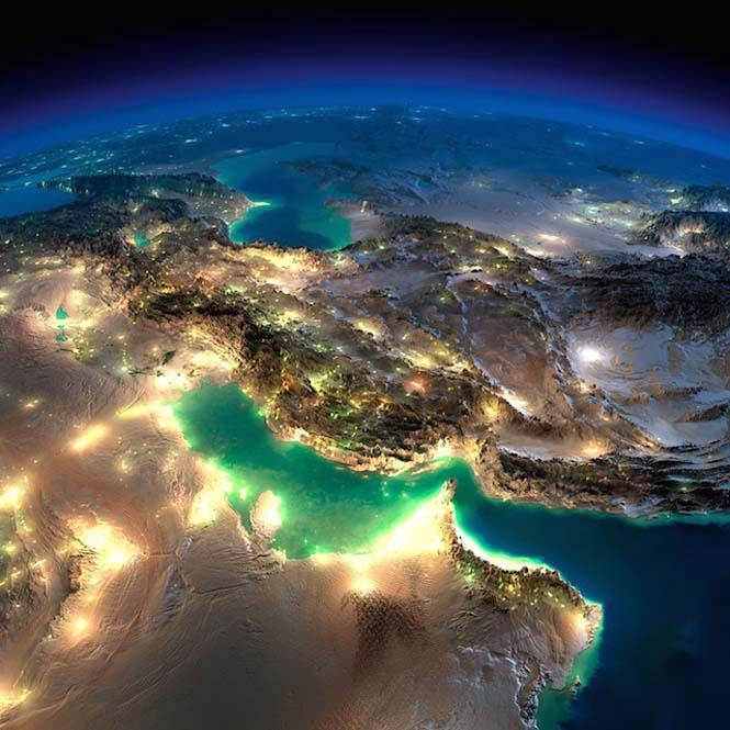 Εκπληκτικές νυχτερινές εικόνες της Γης (6)