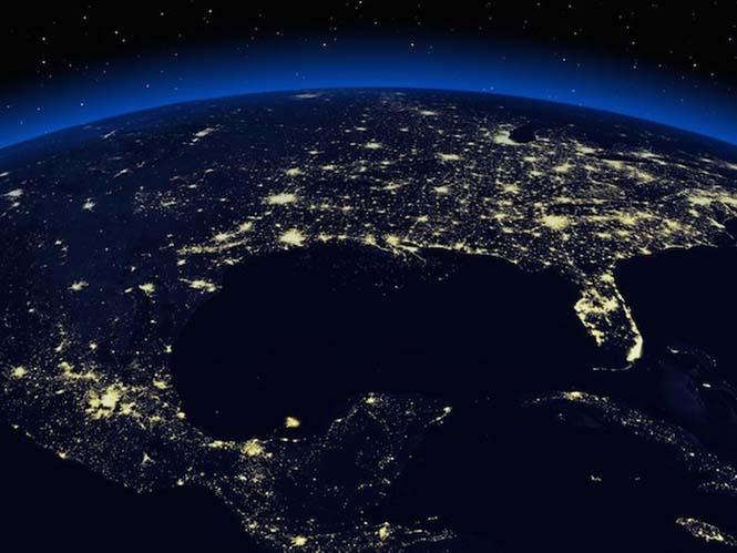 Εκπληκτικές νυχτερινές εικόνες της Γης (7)